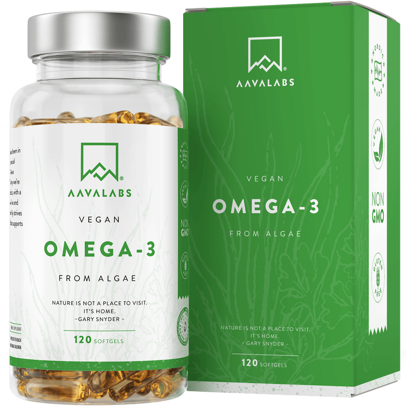 VEGAN OMEGA 3 VALUE PACK - 6 MONTHS SUPPLY