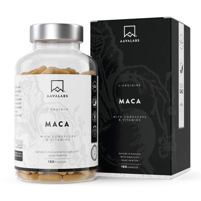 MACA L-ARGININE VALUE PACK - 6 MONTHS SUPPLY