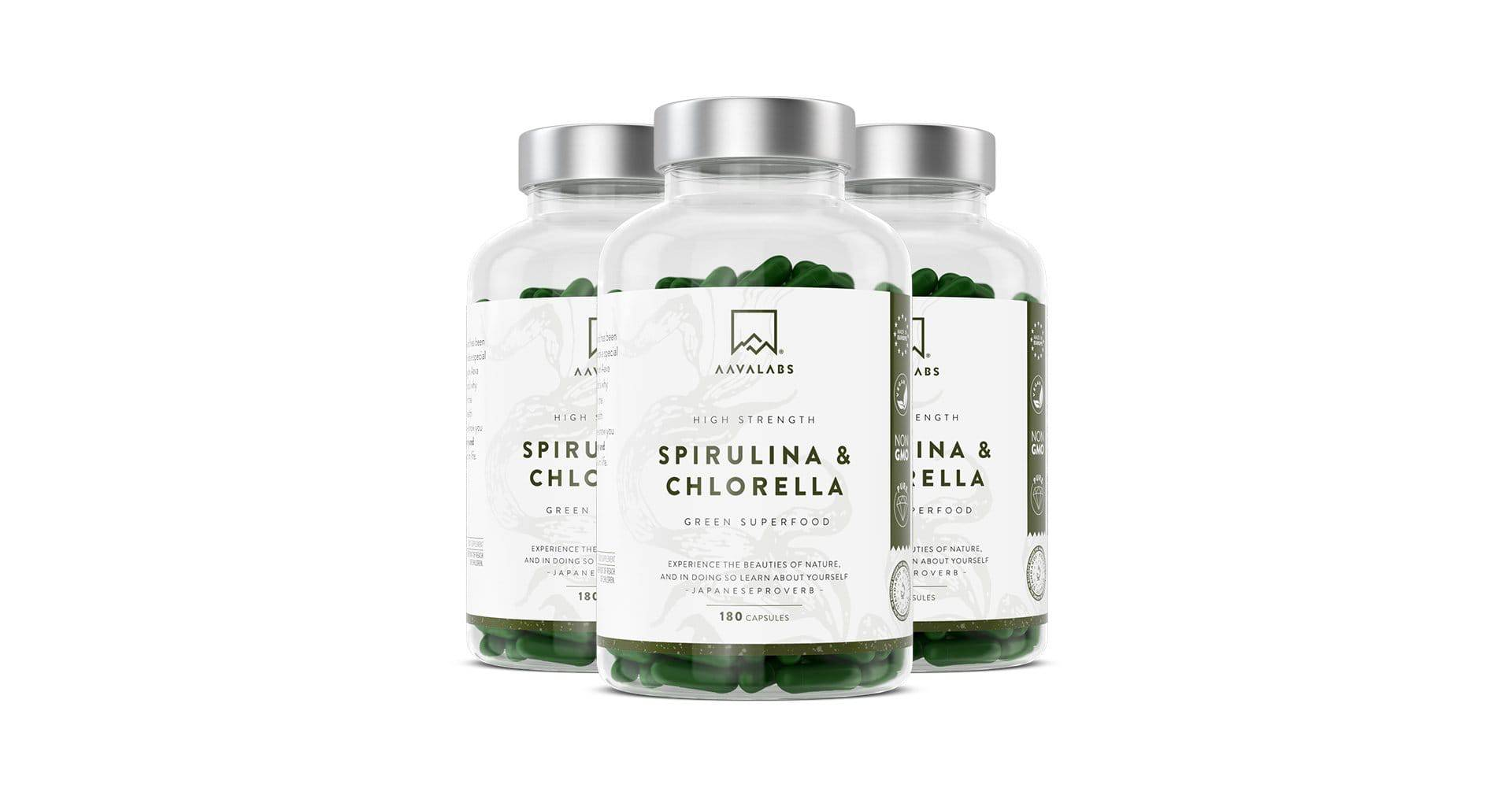 SPIRULINA & CHLORELLA VALUE PACK - 6 MONTHS SUPPLY