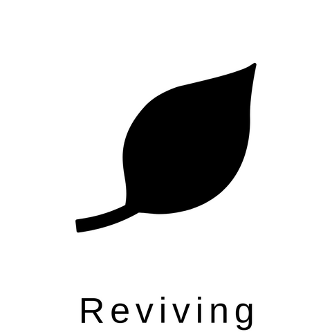 Reviving therapeutic benefits symbol