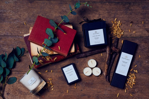 Escape Home Fragrance Collection including Luxury Scented Candle