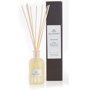 Rose Botanica - a Rose Scented Reed Diffuser by Wild Planet Products