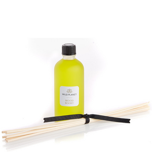 Diffuser Sticks and Oil in Mood Boost fragrance by Wild Planet Products