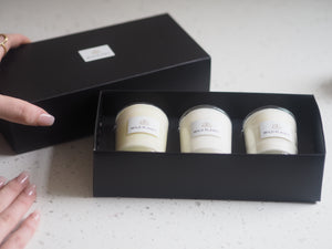 TRIO CANDLE GIFT BOX