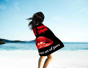 Microfiber Beach Towel-The Rocky Horror Picture Show Beach Towel Two Side Printed