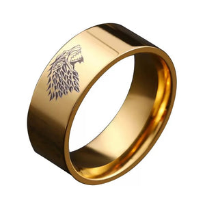 Game of Thrones Tungsten Band - Custom Laser Engraved