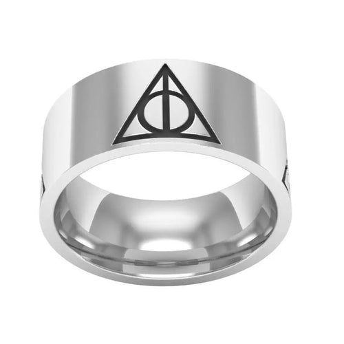 Harry Potter Tungsten Band - Custom Laser Engraved