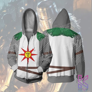 QQIO_KEVF_Dark Souls_Knight Solaire_Zipper Hoodie_