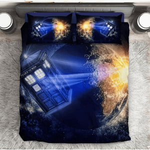 Doctor Who Police Box Bedding Set