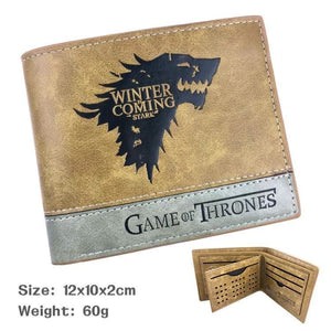 Game Of Thrones PU Leather Wallet
