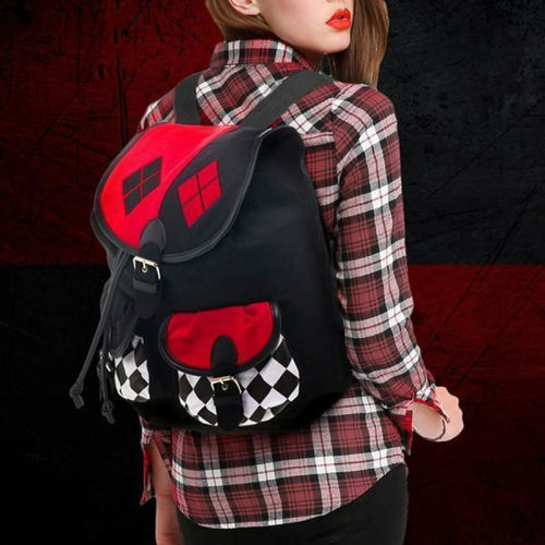 Harley Quinn Backpack kevf