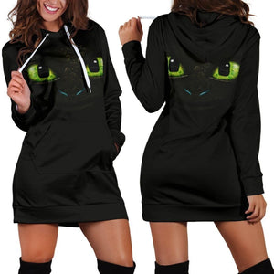 How To Train Your Dragon Toothless Hoodie Dress