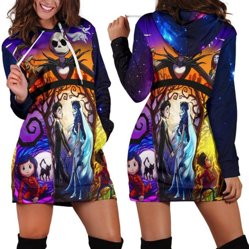 Jack Skellington Nightmare Before Christmas Wedding Hoodie Dress