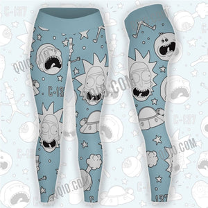 Rick And Morty Unisex Tights V3