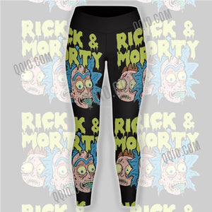 Rick And Morty Unisex Tights V4