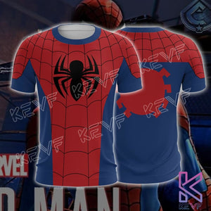 Spiderman T-Shirt - Classic Spider Man Tee - T-shirt / M - hoodie