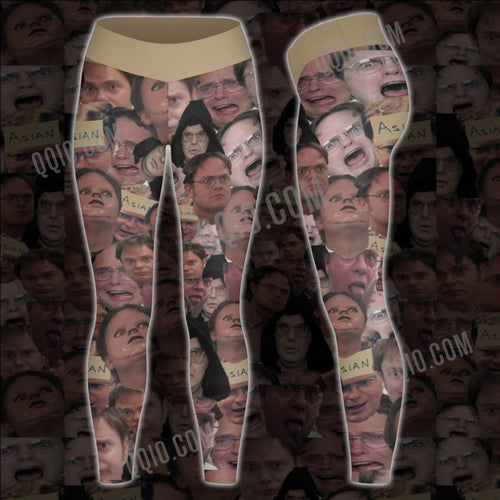 The office Dwight Schrute Unisex Tights V2