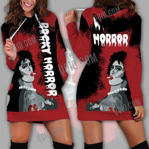 The Rocky Horror Picture Show Hoodie Dress - Hoodie Dress / XS - hoodie dress