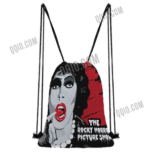 The Rocky Horror Picture Show Reversible Flip Sequin Drawstring Backpack Limited Edition
