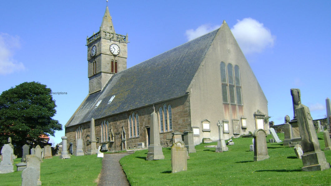 Anstruther Easter Churchyard - Fife PDF