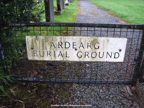Ratagan -Ardearg  Burial Ground - Highland PDF