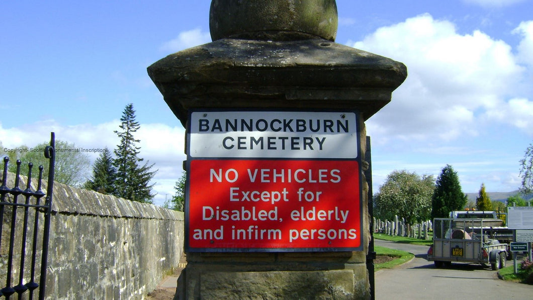 Bannockburn Cemetery- Stirling PDF 3
