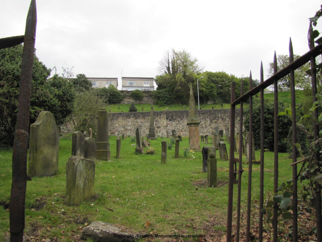 B'oness Upper & Lower Churchyard- West Lothian PDF