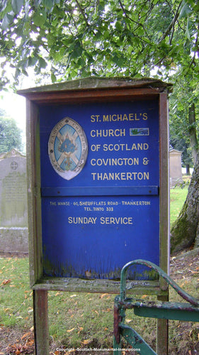 Covington Churchyard - Quothquan Churchyard - Lanarkshire PDF