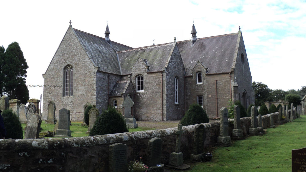 Edrom Church - Berwickshire PDF
