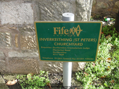 Inverkeithing Cemetery and Peters Churchyard -Fife PDF