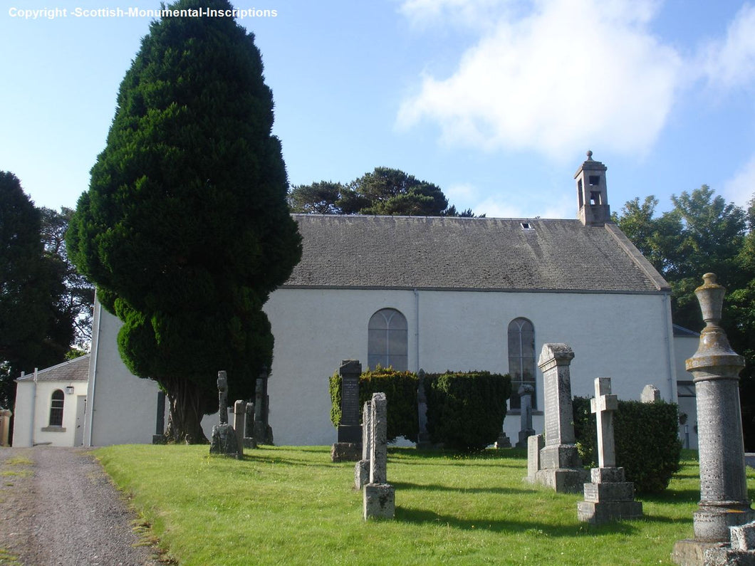 Kingussie Churchyard, Mill Road BG,Catholic BG - Highland PDF