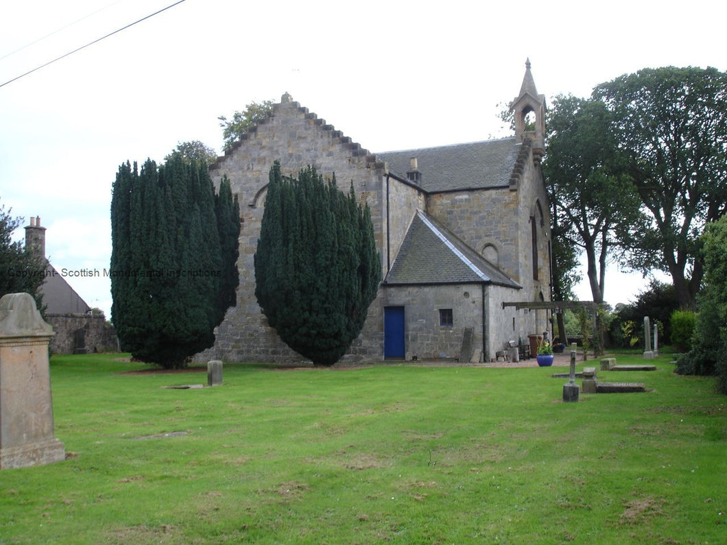 Markinch - Markinch old Church - Milton Balgonie Church - Fife PDF