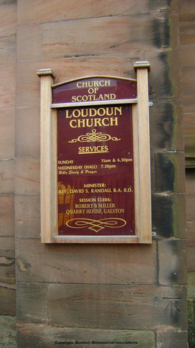 Newmilns - Loudoun Church - Ayrshire PDF