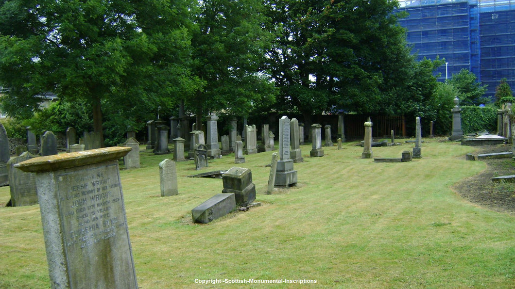 Pathhead Churchyard - Nether street Burial Ground - Kirkcaldy - Fife PDF