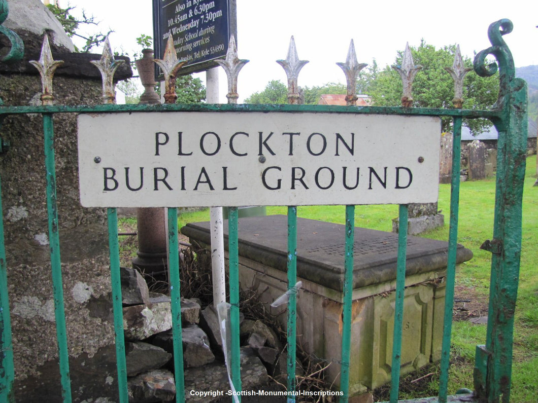Plockton Burial Ground - Ross and Cromarty PDF