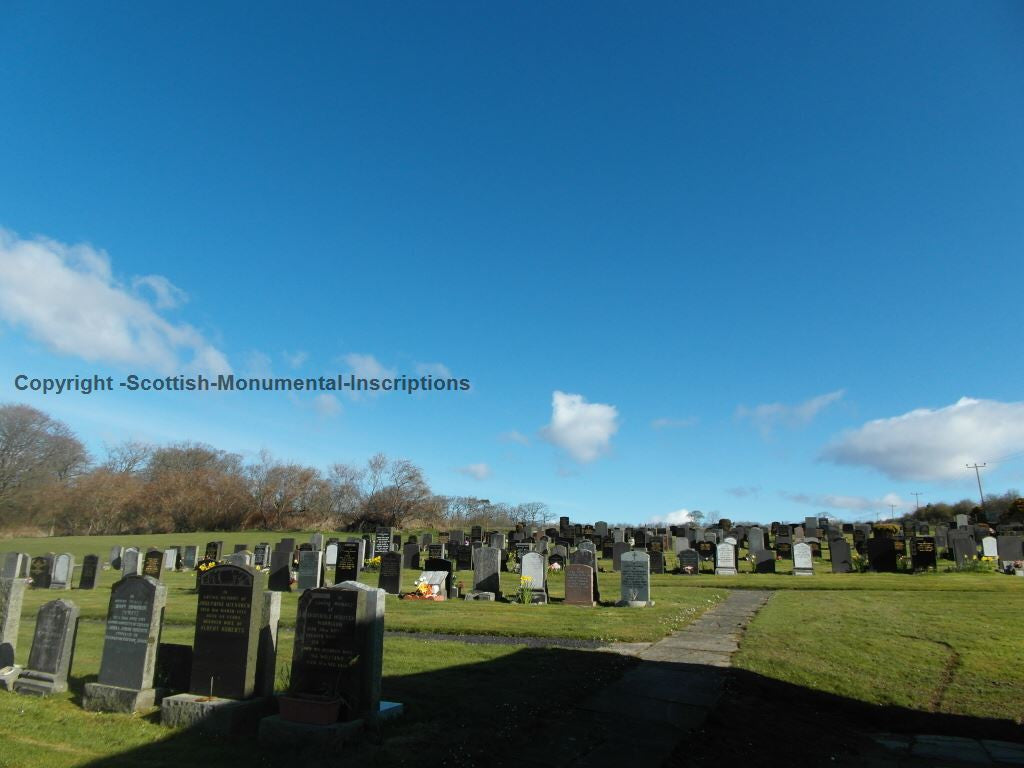 Rothesay New Cemetery (Barone Road) - Isle of Bute PDF