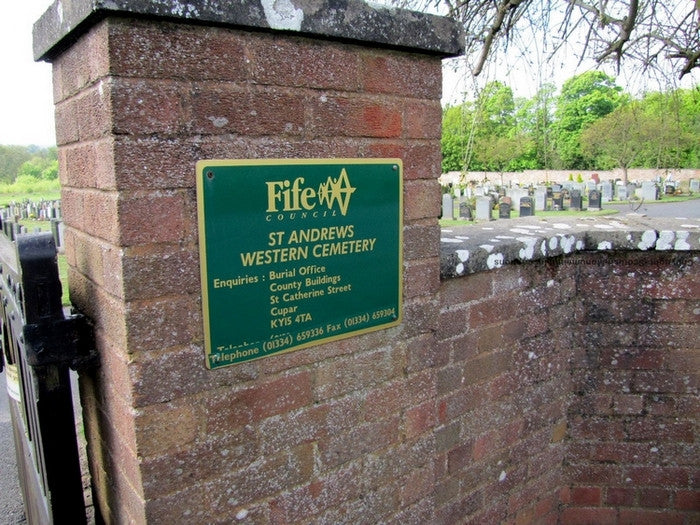 St Andrews Western Cemetery- Part 1- Fife PDF