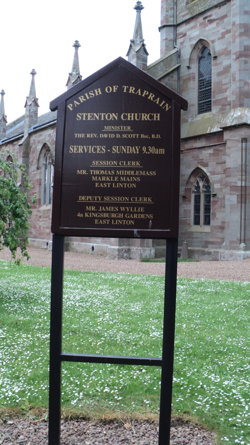 Stenton Church - East Lothian PDF