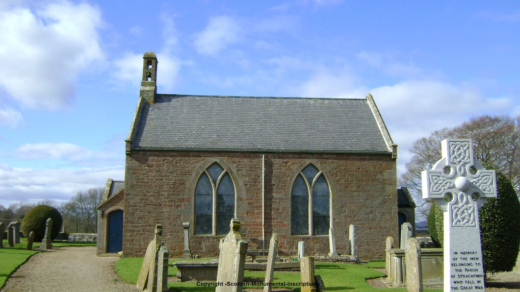Stracathro Church - Angus PDF