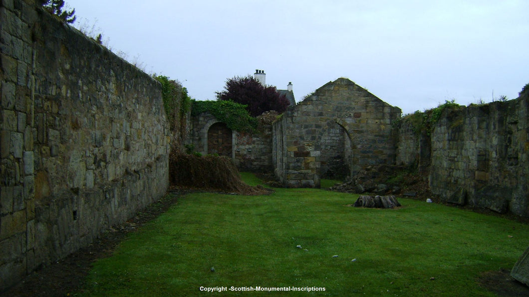 St Serf's and Barony Churchyards- Dysart Fife PDF