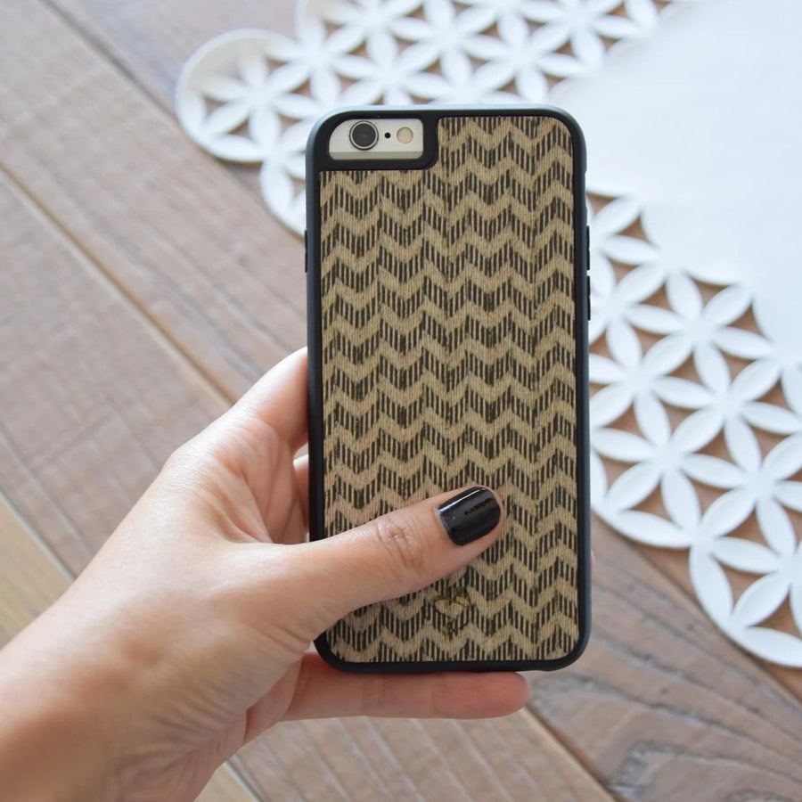 Day and Night Wooden iPhone Case | Wood iPhone Case | IULIA