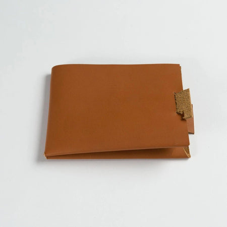 Minimalist Leather Wallet (Tan)