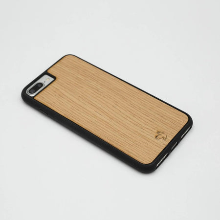 Oak Thick Wood iPhone Case | Wooden iPhone Case | IULIA