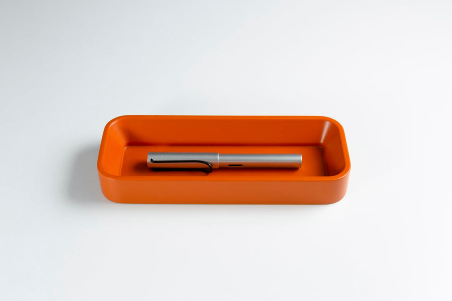 Orange Pen Tray