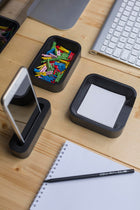Black Desk Organizer Set
