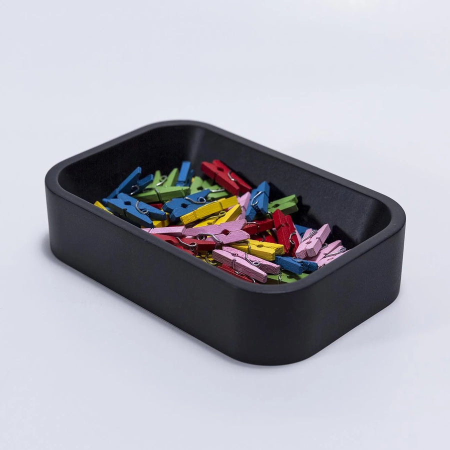 Black Paper Clip Holder