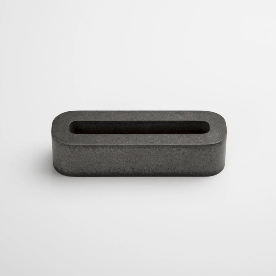 Grey Business Card Holder