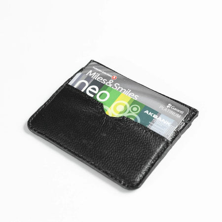 Leather Card Holder (Black)
