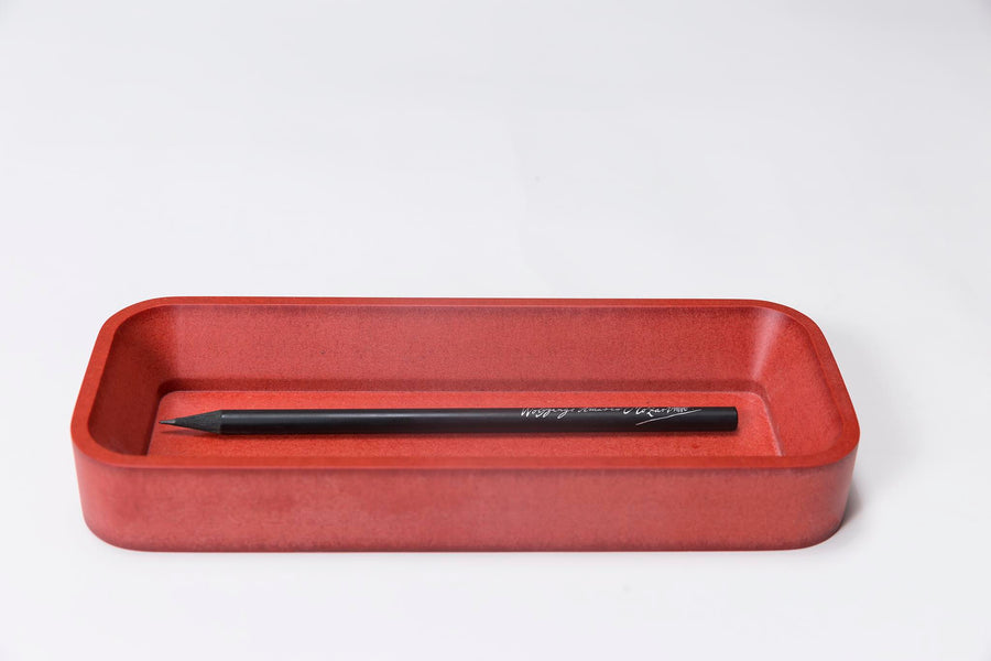 Red Pen Tray