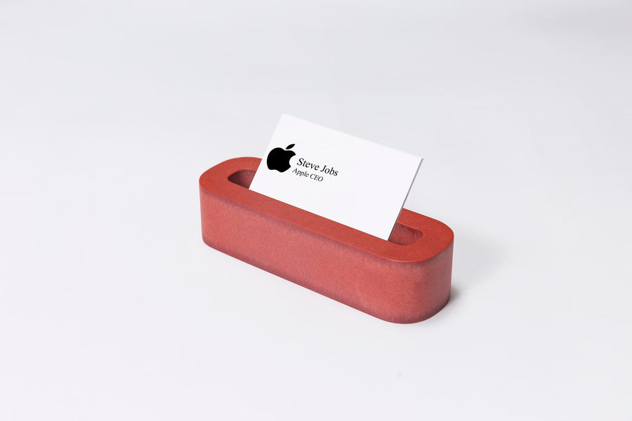 Red Desk Organizer Set